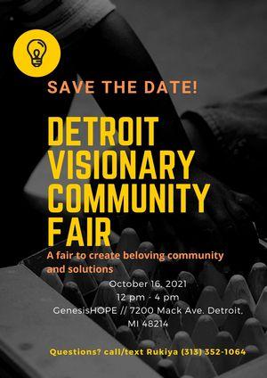 Community Fair Flyer