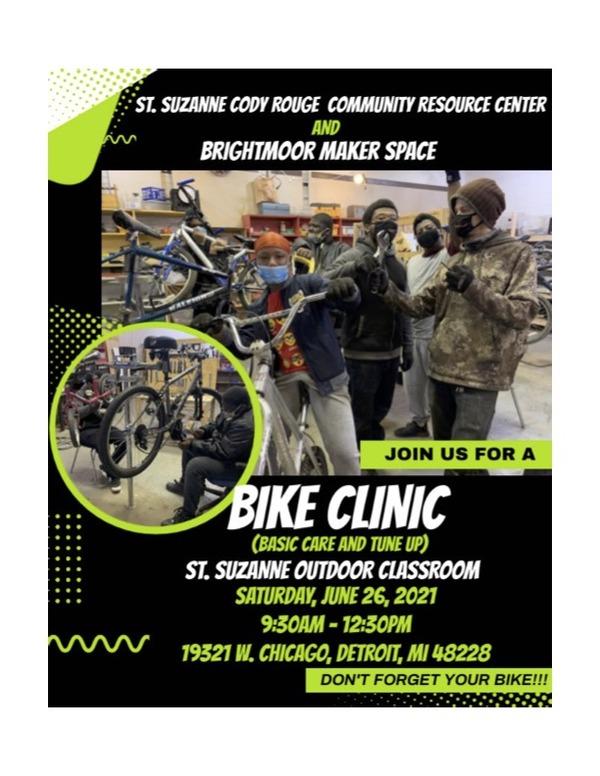 Bike Clinic  brightmoor