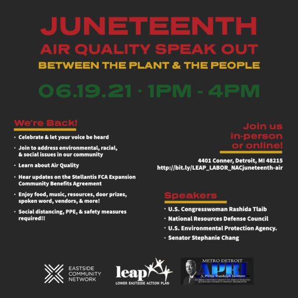Juneteenth Air Quality Forum 6.19.2021