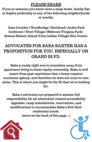 PAGE 1- PLEASE SHARE If you or someone you know owns a large home or duplex on Grand Blvd or in any of the following neighborhoods or nearby_ Woodbridge Corktown Midtown Cass Corridor New Center Virginia Park Boston Edi-7