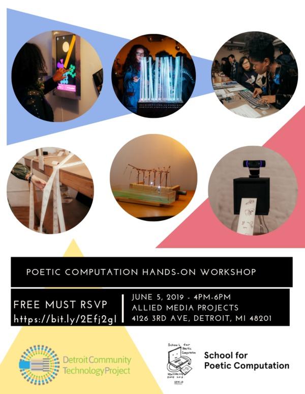 rev_poetic computation hands-on workshop